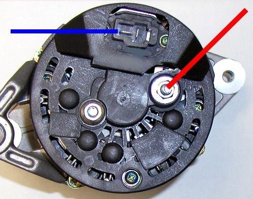 RaceAltWiring race alternator wiring at lindsey racing your porsche porsche 911 alternator wiring diagram at edmiracle.co