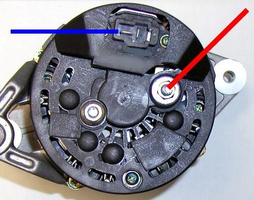 race alternator wiring at lindsey racing your porsche. Black Bedroom Furniture Sets. Home Design Ideas