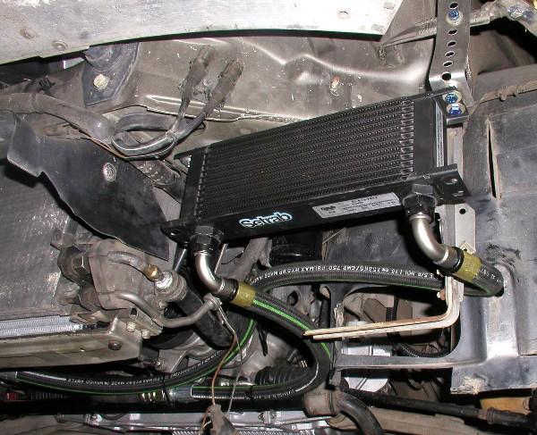 Kiss Oil Cooler At Lindsey Racing Your Porsche