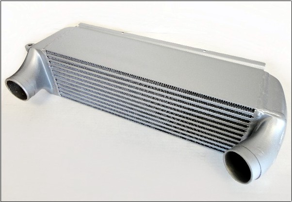 Lindsey Racing Intercooler Pictured